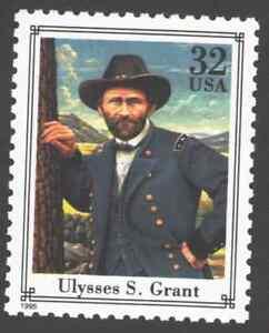 US. 2975d. 32c. Ulysses S. Grant. Civil War. MNH. 1995