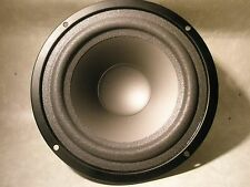 "NEW- 6"" Bass/Mid Bass Poly Driver S.V.C. Rubberized foam 50W 8 ohm.(100W Max)"