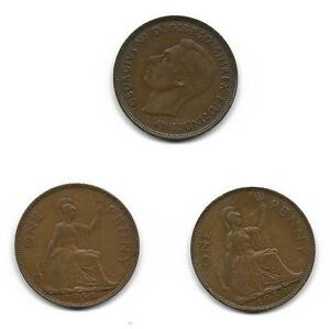 1938 George 6th 1 penny  (02)