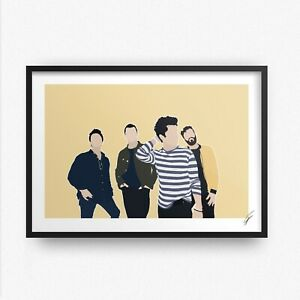 Stereophonics INSPIRED WALL ART Print / Poster A4 A3 21 rock dakota mr writer