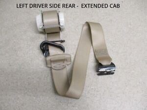 2003-2006 Escalade Tahoe Yukon 2nd Row Seat Belt Buckle Rear RH or LH OEM