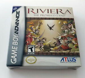Riviera: The Promised Land (Nintendo Gameboy Advance, 2005) GBA Complete CIB RPG
