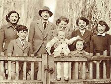 Sir Roger Makins & Family Sherfield Court Basingstoke 1953 Photo Article 9088