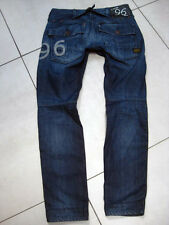 Ladies Womens GStar ELWOOD HERITAGE EMBRO NARROW WMN Jeans W26 28 L30 size UK 8