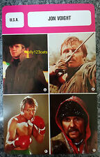 US Midnight Cowboy Odessa File Actor Jon Voight French Film Trade Card