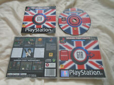 Grand Theft Auto London PS1 (WITH MANUAL) rare black label GTA Sony Playstation