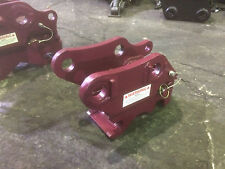 Volvo EC20, 25, 28 and 30 Spring type manual quick hitch/coupler