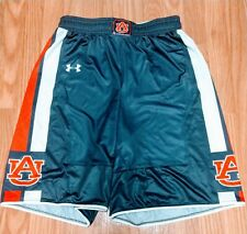 Men's Under Armour Auburn Tigers Navy Blue Basketball Shorts Size Small