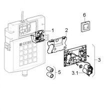 Geberit HyTronic WC-Steuerung (Funk/Batterie) für Stützklappgriff Mambo Edelstah