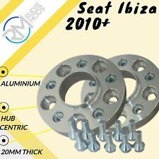SEAT Ibiza 2002 in poi 5mm Hubcentric Wheel Distanziatori 5x100 57.1 1 coppia in lega