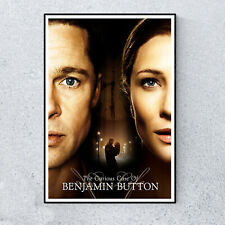 The Curious Case Of Benjamin Button Film Movie Glossy Print Wall A4 Poster