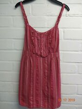 Pink Stripy  Cotton Strappy Sun Top from Cherokee size 8