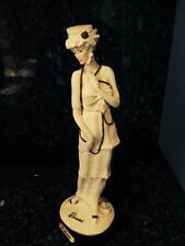 Vintage Giuseppe Armani Lady With Necklace Figurine