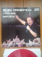 BRUCE SPRINGSTEEN- Tramps Like Us  -  Live, Red Vinyl