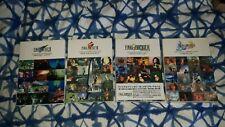 Final Fantasy VII, VIII, IX, X Memorial Books Japanese - Excellent Condition