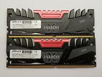 PNY Anarchy 16GB Kit - 2x 8GB DDR4 3200 PC4-25600 NON ECC Desktop PC RAM Memory