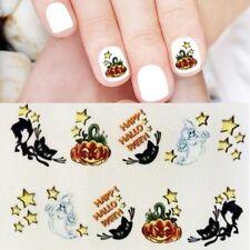 Halloween Nagelsticker Geist Kürbis Nailart Sticker Nagelaufkleber Nails B-921