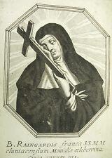 Bienheureuse Raingarde de Semur Michiel VAN LOCHOM à Duchesse d'Aiguillon 1639