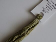 Over-dyed embroidery floss,  Garden Peas,  DMC 3053 20yards