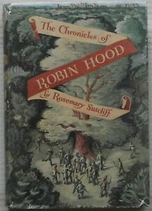 The Chronicles of Robin Hood by R. Sutcliff, 1950 - C. Walter Hodges, Near Fine