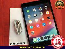 Apple iPad mini 2 64GB Wi-Fi Cellular (Unlocked) 7.9in Space Grey iOS 12 Ref 144