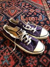 Vintage Purple Converse Chuck Taylor Made in USA Low Top Sneakers Size 7