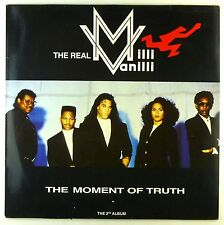 """12"""" LP - The Real Milli Vanilli - The Moment Of Truth - The 2nd Album - D770"""