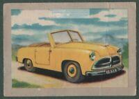 1952 Kleingwagen Belge 2 Cyl 13 hp Auto Vintage Ad Card