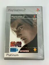 PS2 Tekken Tag Tournament, Platinum French Version, New & Factory Sealed, Read