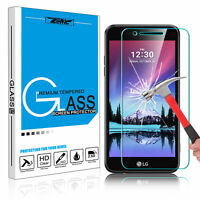 For LG K20 Plus /K20 V/K10 2017/V5 Tempered Glass Screen Protector Film 9H Clear