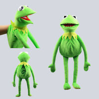 The Muppets Show Kermit Frog Hand Puppet Plush Toy Ventriloquism Party Prop Doll