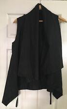 Alistair Trung Black Sleeveless Organic Cotton  Top Size 1