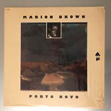 Marion Brown – Porto Novo Vinyl LP USA 1975 superb copy!