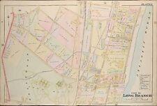 1904 NORTH /& WEST CALDWELL ESSEX COUNTY NEW JERSEY MONOMONOCK INN ATLAS MAP