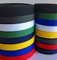 25mm Webbing Tape Strap Lead Narrow Fabric 10 meter to 100 meters