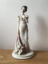 RARE VINTAGE A BELCARI ( DEAR ) CAPODIMONTE LADY FIGURINE...LOT 1 OF 4,BEAUTIFUL