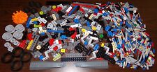 NEW LEGO TECHNIC LOT: 640+ Pieces! (tires plates bricks beams specialty parts)
