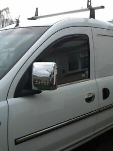 Vauxhall Opel COMBO C 2001-2011 Abs Chrome Mirror Cover 2Pcs