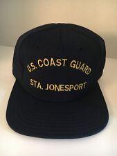 "U S Coast Guard Cap ""Us Coast Guard Sta. Jonesport """