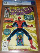 SPECTACULAR SPIDER-MAN #158 - CGC 9.8 NM/MT (1st Cosmic Spider-Man ; White Pgs)