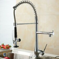 Professional Kitchen Faucet Industrial Commercial Spring Pull Down Heavy-Duty
