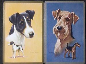 Swap cards vintage - PAIR OF GENUINE VINTAGE DOGS