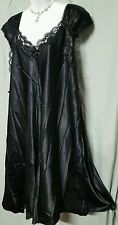 VENTURA SEXY BLACK  SLEEVELESS CALF LENGTH  NIGHTGOWN  WOMENS SIZE 5X GIFT