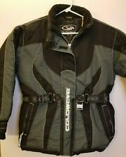 Coldwave Womens MEDIUM Black Grey Snowboard Winter RN84928 LS Jacket Coat