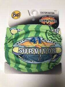 Survivor Buff - Season 41 (CURRENT SEASON) Ua Tribe Green Buff NWT (SHIPS FREE!)