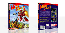 Mega Man 6 NES Replacement Reproduction Game Case Box + Cover Art Work (No Game)