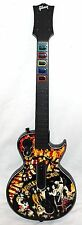 XBox 360 MOTLEY CRUE Guitar Hero Wireless Controller Limited Edition Les Paul