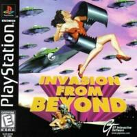 Invasion from Beyond Playstation 1 Game PS1 Used