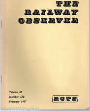 The Railway Observer magazine June 1976 vol.46 no. 568 published by RCTS
