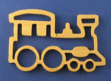 Toy Train Christmas Ornament - hand cut